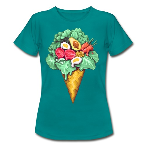 Ice Cream Salad - Women's T-Shirt