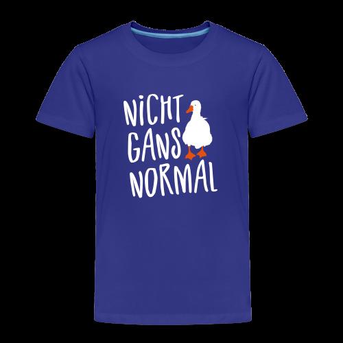 Nicht Normal Gans Spruch Kinder T-Shirt - Kinder Premium T-Shirt