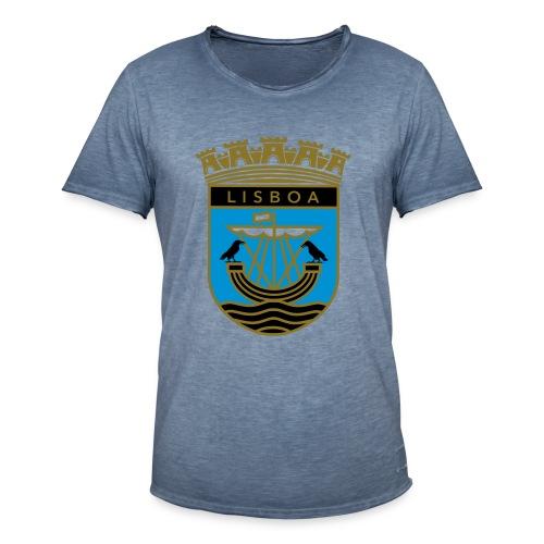 Lisboa - Männer Vintage T-Shirt