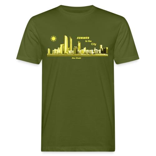 Abu Dhabi Skyline Emirate Summer - Männer Bio-T-Shirt