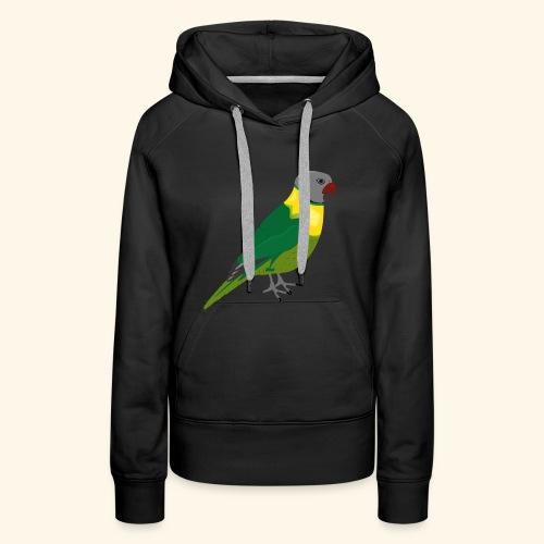 Papagei zum Mitnehmen - Frauen Premium Hoodie