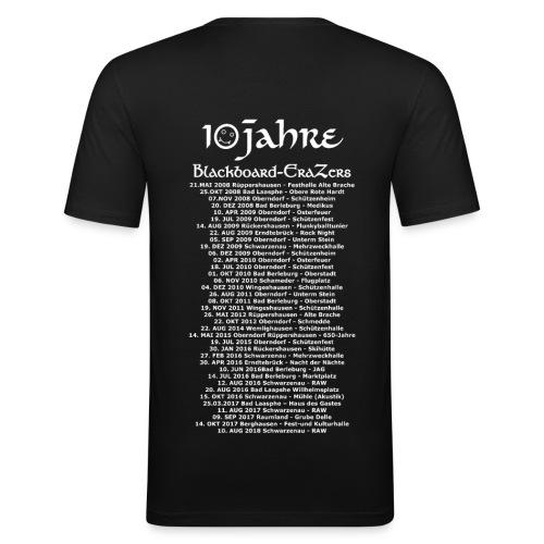 10 Jahre EraZers T-Shirt - Männer Slim Fit T-Shirt