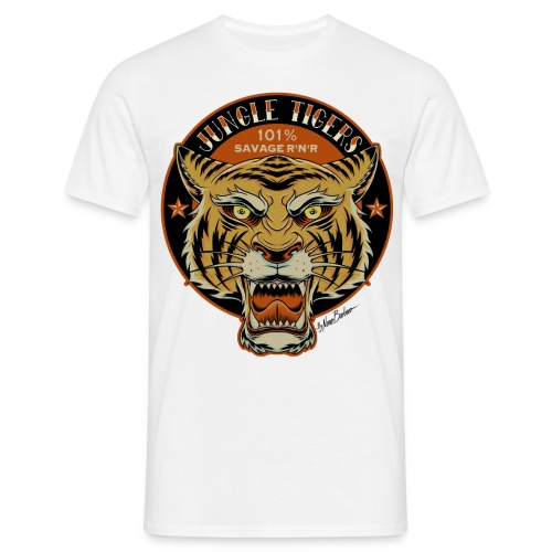 Jungle Tigers 2018 w - Men's T-Shirt