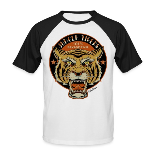 Jungle Tigers 2018 w - Men's Baseball T-Shirt