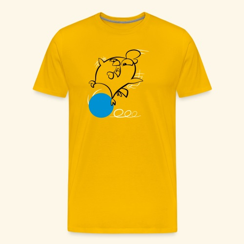 Krazy Freaky Chicks - KFC - Chickenball - Männer Premium T-Shirt