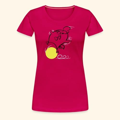 Krazy Freaky Chicks - KFC - Chickenball - Frauen Premium T-Shirt