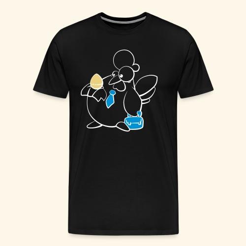 Krazy Freaky Chicks - KFC - Chickwork - Männer Premium T-Shirt
