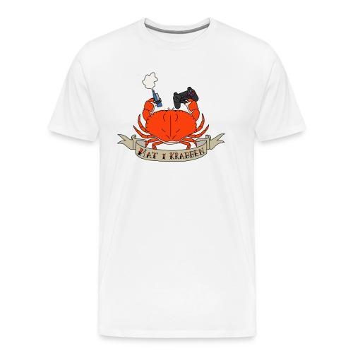 Mat i Krabben (Menn) - Premium T-skjorte for menn