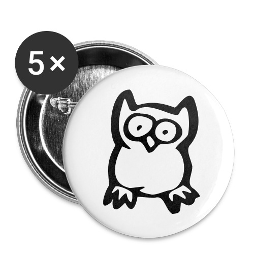 Nemesis Of The Vole Badge - Buttons small 25 mm