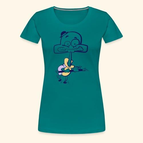 Stepp Schildkröt - Frauen Premium T-Shirt