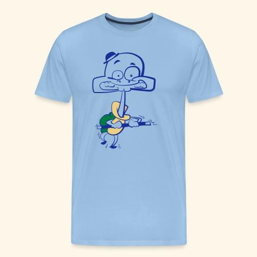 Stepp Schildkröt - Männer Premium T-Shirt
