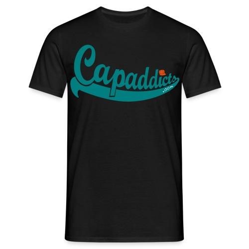 Capaddicts Logo - Sugar Skull - Männer T-Shirt