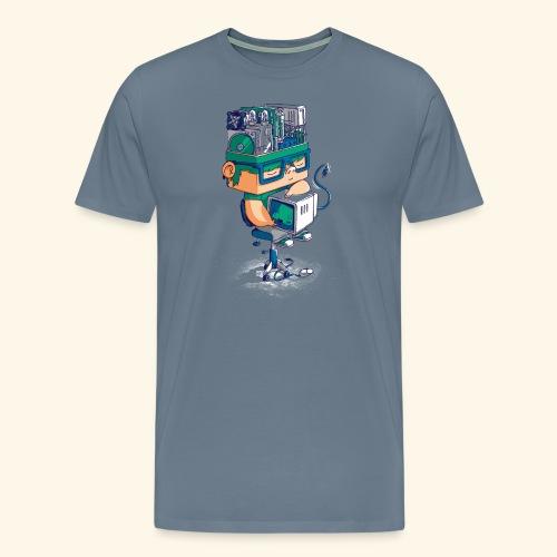 I AM AN AI - T-shirt Premium Homme