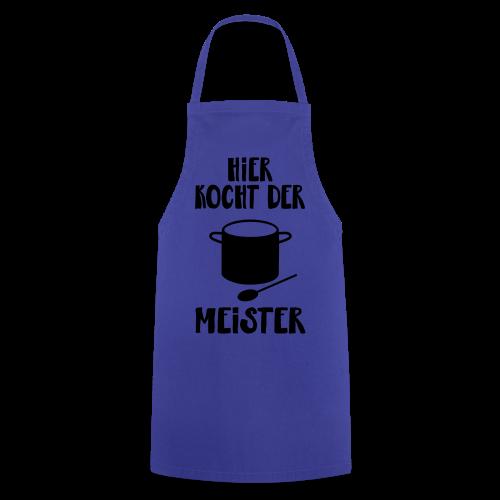 Hobby Kochen Koch Männer Geschenk Spruch Schürze - Kochschürze