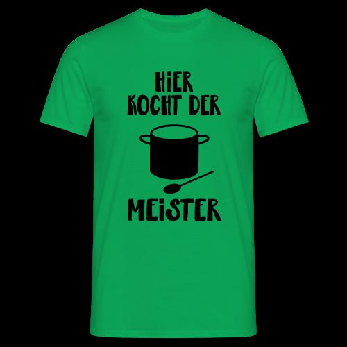 Hobby Kochen Koch Männer Geschenk Spruch T-Shirt - Männer T-Shirt