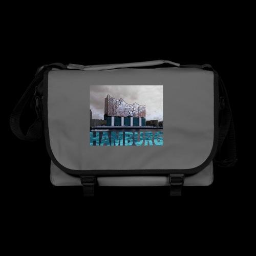 Künstlermotiv mit der Elbphilharmonie Hamburg - Umhängetasche