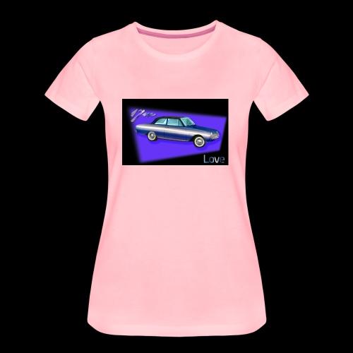 Oldtimer Taunus 17m P3 1960 bis 1964: Love - Frauen Premium T-Shirt