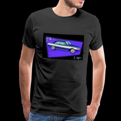 17m P3 1960 bis 1964: Love - Männer Premium T-Shirt