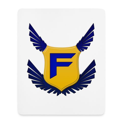 Fakz Badge Mouse Mat - Mouse Pad (vertical)