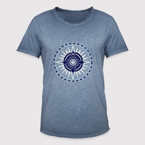 ROSE OF THE SEAS - Männer Vintage T-Shirt