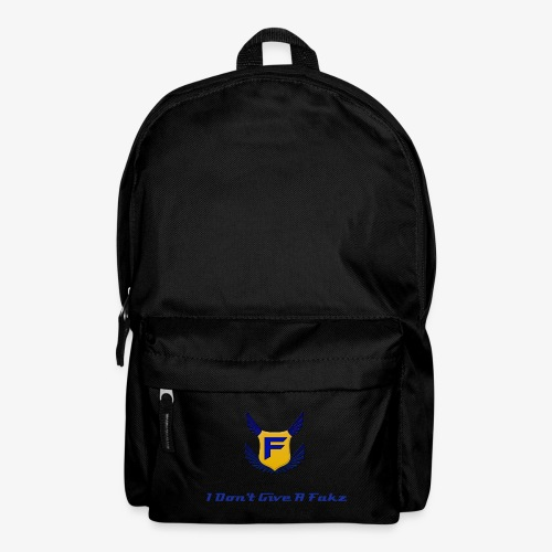 I Don't Give A Fakz Backpack - Backpack