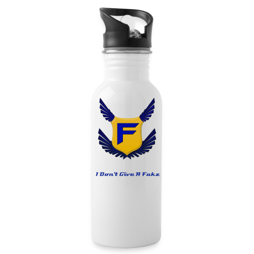I Don't Give A Fakz Bottle - Water Bottle
