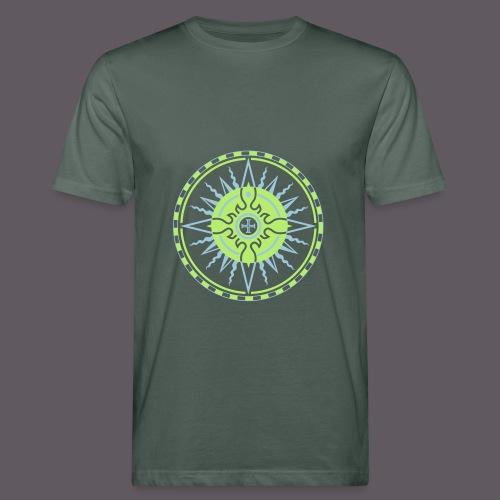 Wind Rose - Männer Bio-T-Shirt
