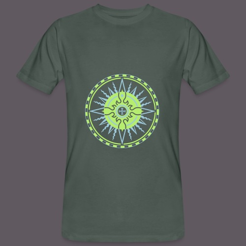 Wind Rose - Männer Bio-T-Shirt