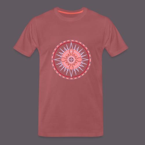 Wind Rose - Männer Premium T-Shirt