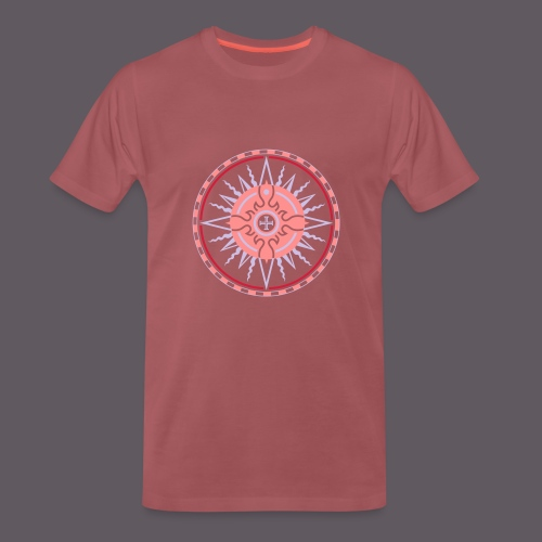 Wind Rose - Männer Premium T-Shirt
