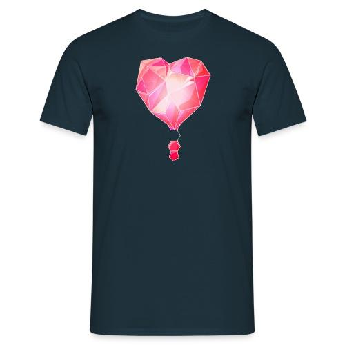 Specter MDMA Strukturformel Basic T-Shirt love - Männer T-Shirt