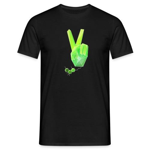 Specter THC Strukturformel  Basic T-Shirt peace - Männer T-Shirt