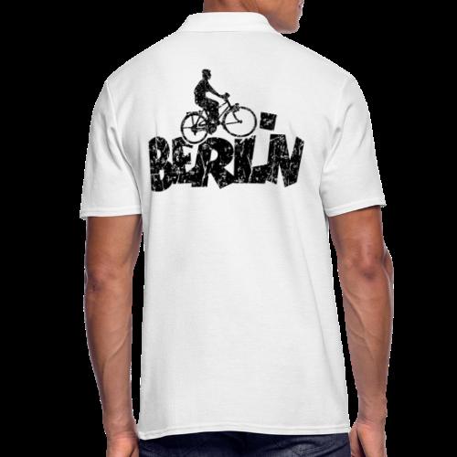 Berlin Fahrrad Polo Shirt für Berliner Fahrradfahrer - Männer Poloshirt