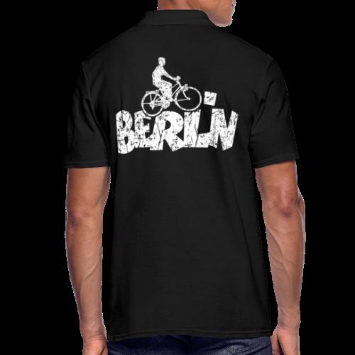 Berlin Fahrrad Poloshirts für Berliner Fahrradfahrer - Männer Poloshirt