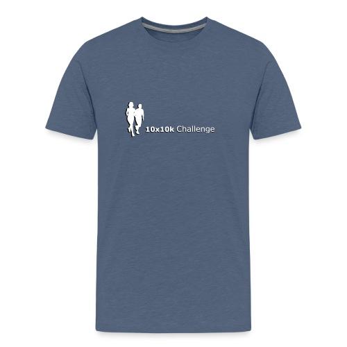 10x10k Challenge - Teen T-Shirt - Teenage Premium T-Shirt
