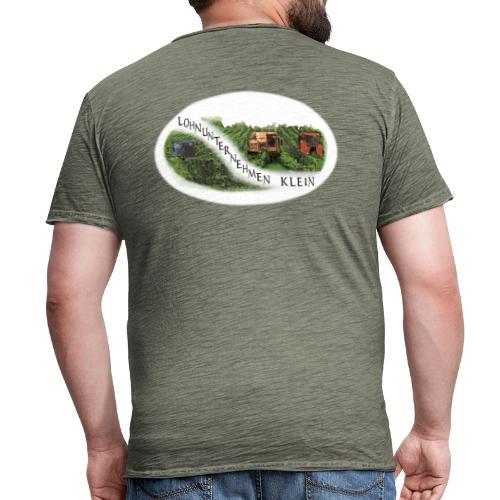 Logo Lohnunternehmen Klein - Männer Vintage T-Shirt