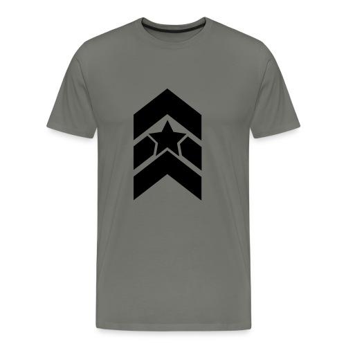 Stripes an star - Männer Premium T-Shirt