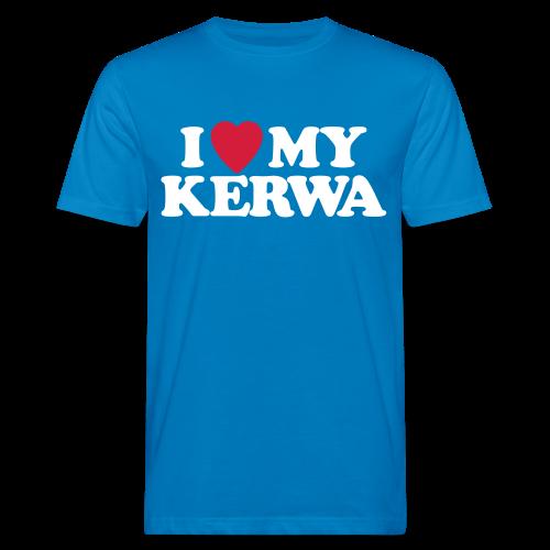 I Love My Kerwa - Herren BIO T-Shirt - 100% Baumwolle - #KLEINSTADT - Männer Bio-T-Shirt