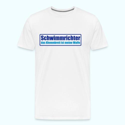 Achtung! Schwimmrichter. - Männer Premium T-Shirt