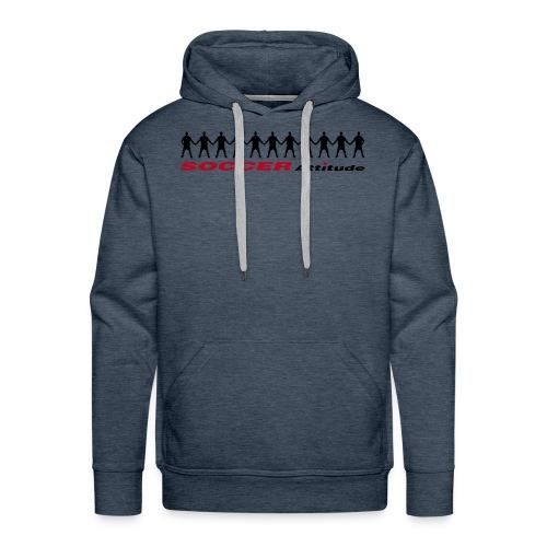 Soccer Attitude - Mannen Premium hoodie