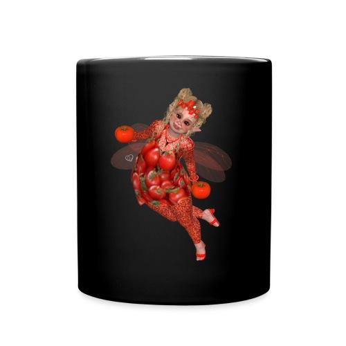 Tomaten Pummelfee - Tasse einfarbig