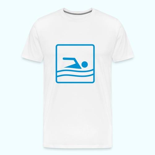 Swimmer - Männer Premium T-Shirt