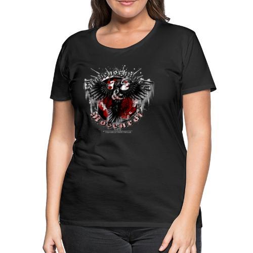 Rabenschwarz & Rosenrot - Frauen Premium T-Shirt
