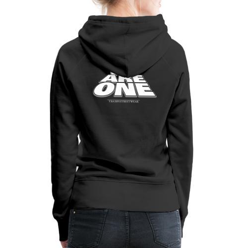 We are One2 - Frauen Premium Hoodie