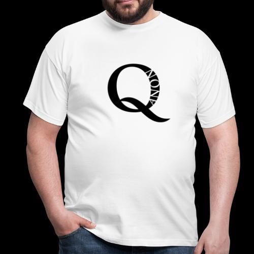 Q-Anon Männer T-Shirt - Männer T-Shirt