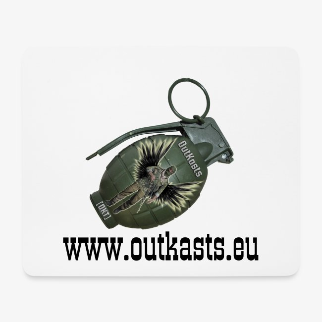 OutKasts.EU Grenade Side Mouse Pad (horizontal)