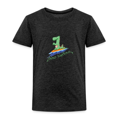 dino surfing - T-shirt Premium Enfant