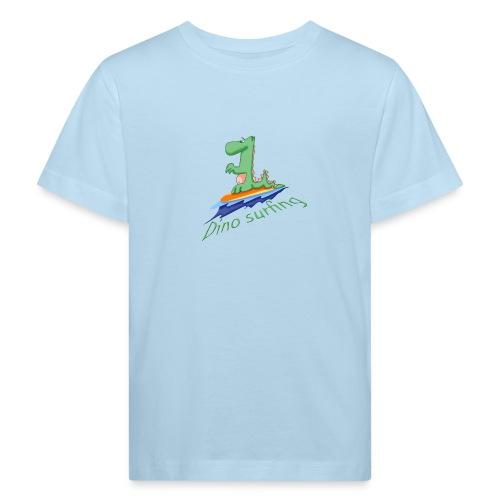 dino surfing - T-shirt bio Enfant