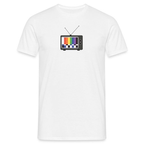 gay rainbow tv - Men's T-Shirt