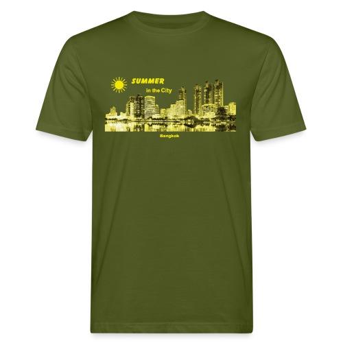 Bangkok Skyline Thailand City Summer - Männer Bio-T-Shirt